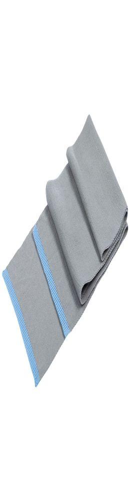 Шарф Best, серо-голубой фото