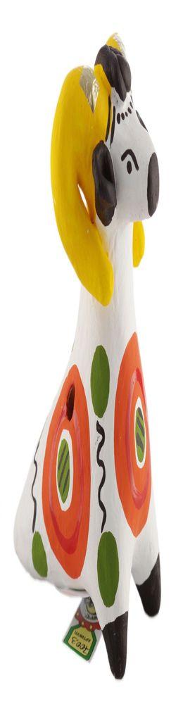 Дымковская игрушка-свистулька «Чудо чудное» фото
