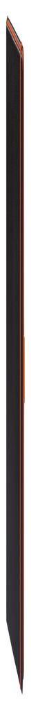 Ежедневник Tone недатированный, черный с оранжевым