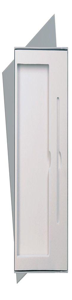 ПОДАРОЧНАЯ КОРОБКА ПОД ЕЖЕДНЕВНИК+РУЧКА, СЕРАЯ, 250*250 мм, светлый ложемент фото