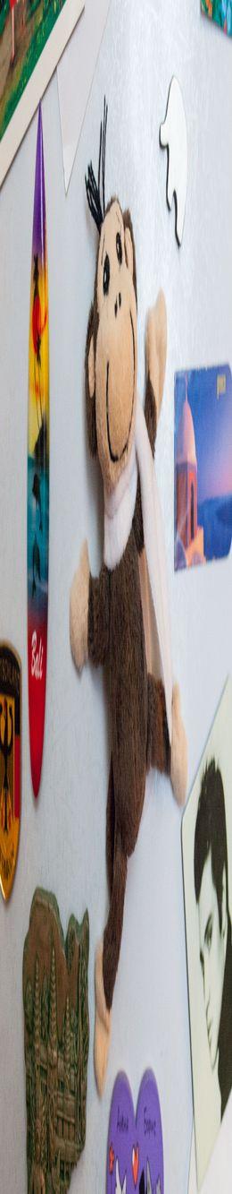 Магнит на холодильник «Обезьянка» фото