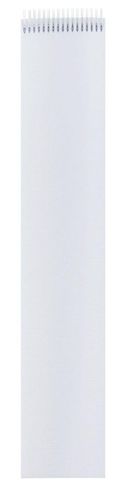 Блокнот Nettuno в линейку, белый фото