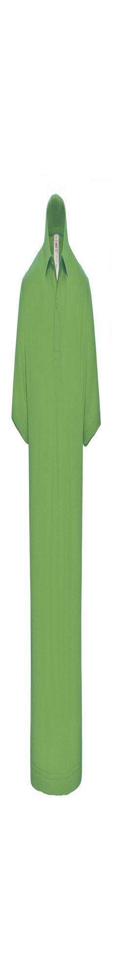 Рубашка поло ID.001 зеленое яблоко фото