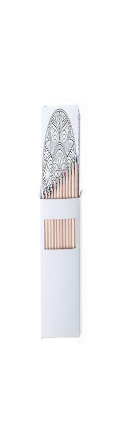 Набор цветных карандашей BOLTEX с раскрасками фото