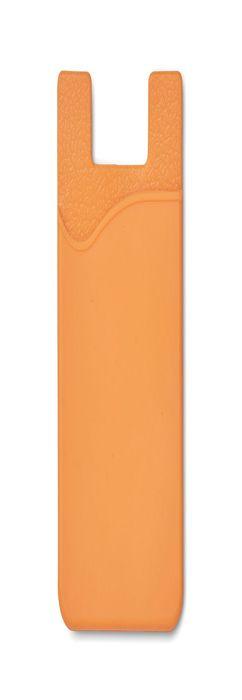 SILICARD Чехол для пластиковых карт, оранжевый фото