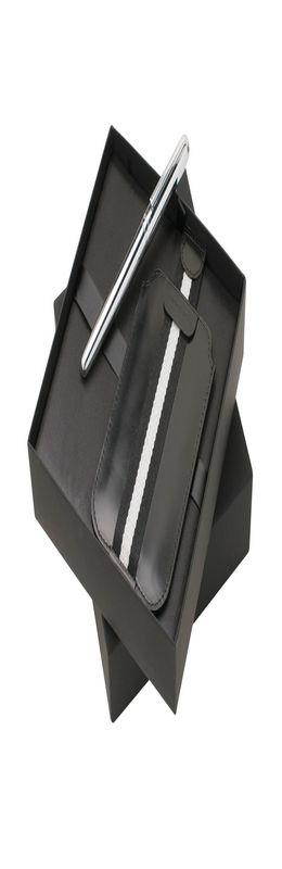 Подарочный набор: чехол для телефона, ручка роллер фото