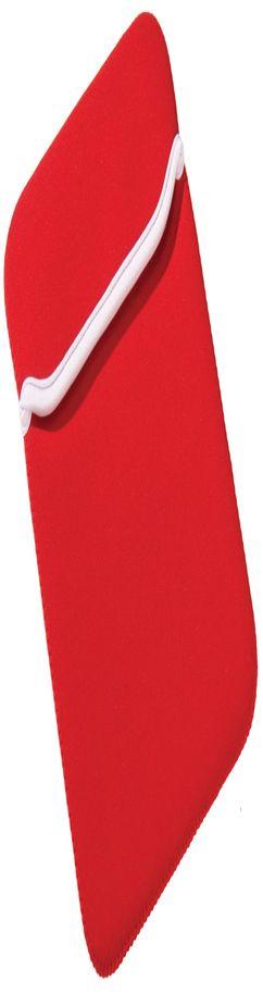 """Чехол для iPad 10"""", красный с белым фото"""