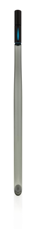 Бутылка для воды Aqua из материала Tritan, черная фото