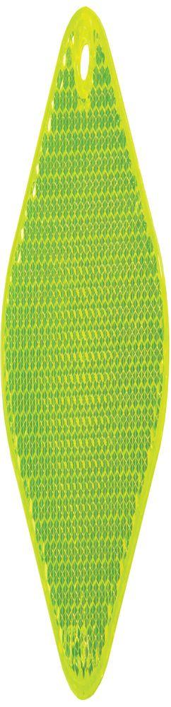 Светоотражатель «Квадрат», неон-желтый фото