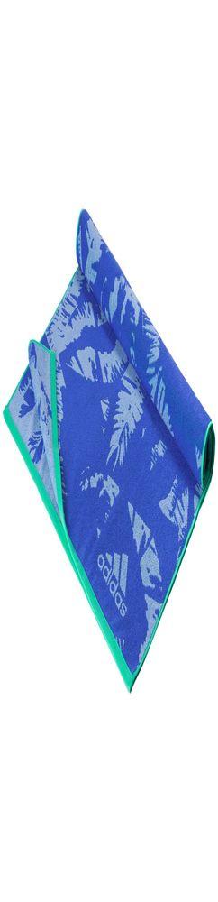 Пляжное полотенце, синее фото