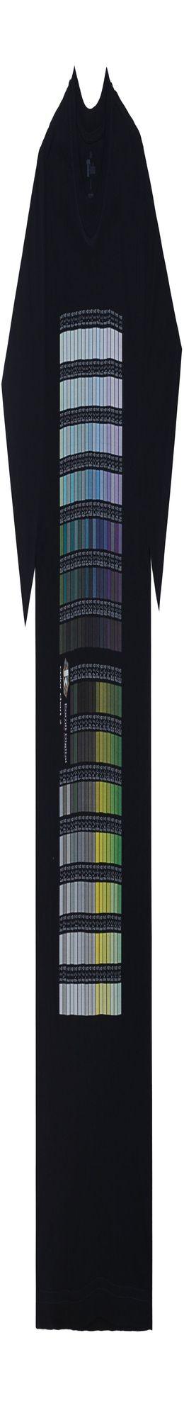 Футболка T-bolka 160 с DTG-печатью Kornit Color chart 2, темно-синяя фото