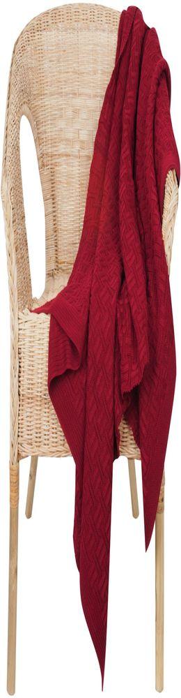 Плед Basket, красный фото