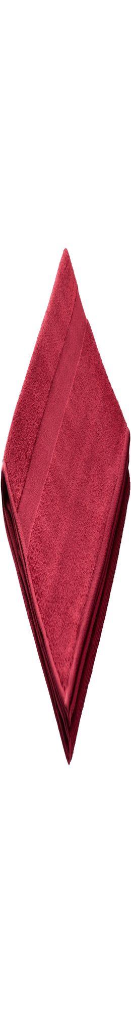 Полотенце махровое Large, бордовое, плотность 400 г/м² фото