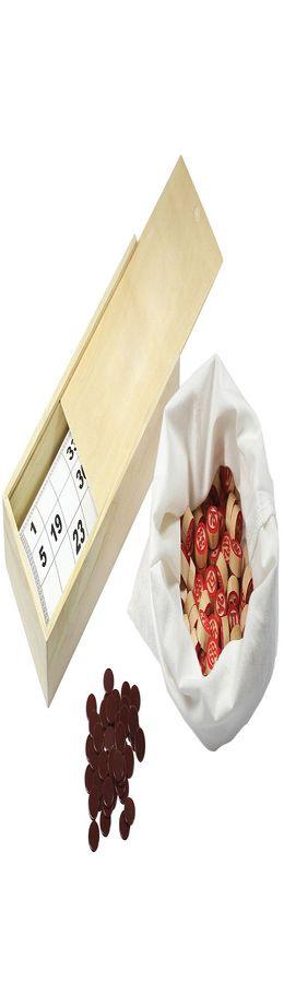 Русское лото, 24х11х5 см, дерево/картон/хлопок фото