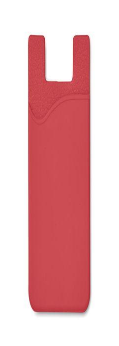 SILICARD Чехол для пластиковых карт, красный фото
