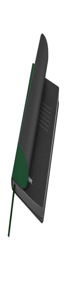 Ежедневник недатированный, Portobello Trend, Latte soft touch, 145х210, 256 стр, зеленый фото