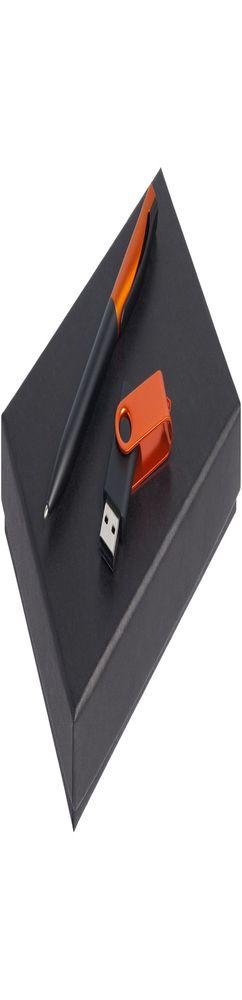 Набор Twist Fashion, черный с оранжевым, 16 Гб фото