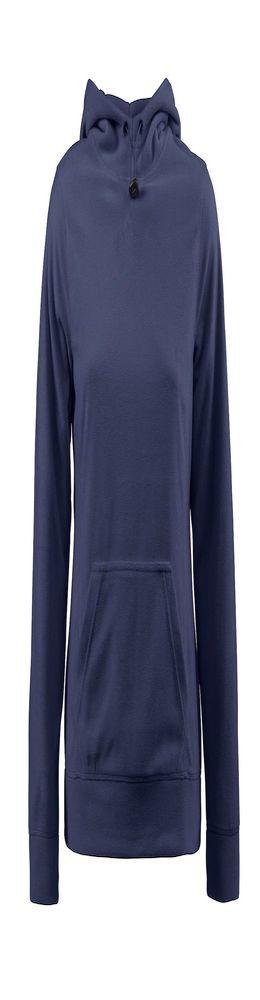 Толстовка флисовая женская Switch темно-синяя фото