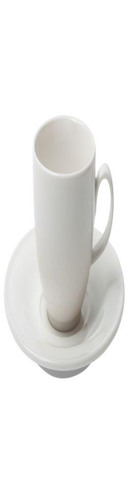Кофейная пара Maxim Diamond для капучино, молочно-белая фото