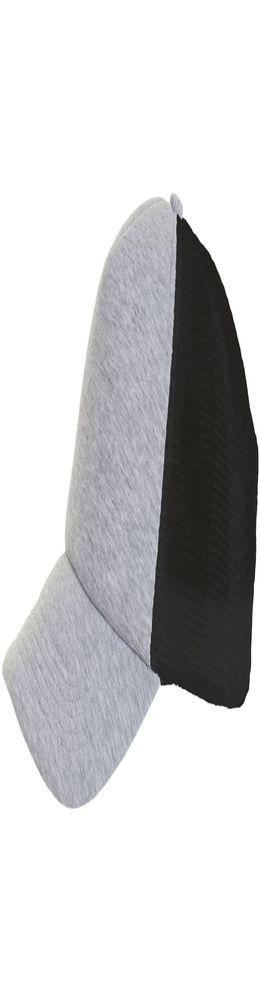Бейсболка DODGE, серый меланж с черным фото