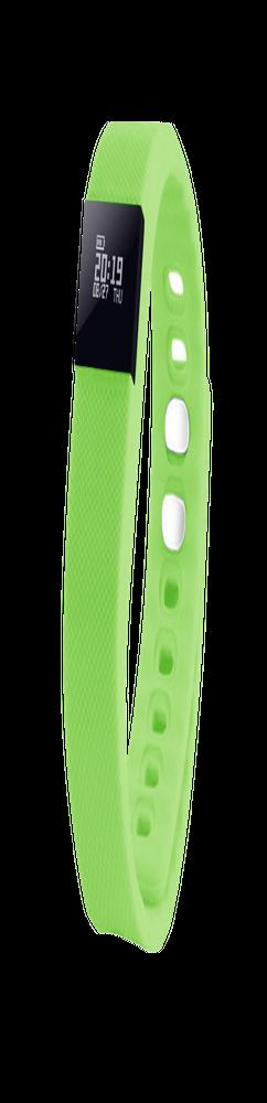 """Смарт браслет (""""умный браслет"""") Portobello Trend, The One, электронный дисплей, браслет-силикон, 240x20x10 мм, зеленый фото"""