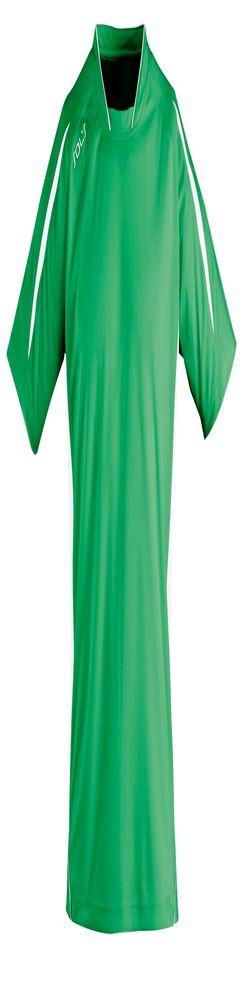 Футболка спортивная MARACANA 140, зеленая с белым фото