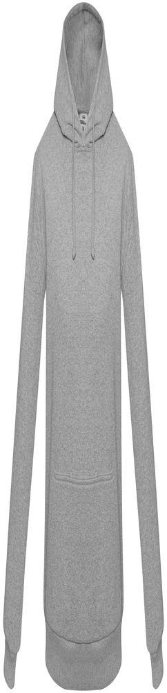 Толстовка с капюшоном Unit Kirenga Heavy, серый меланж фото