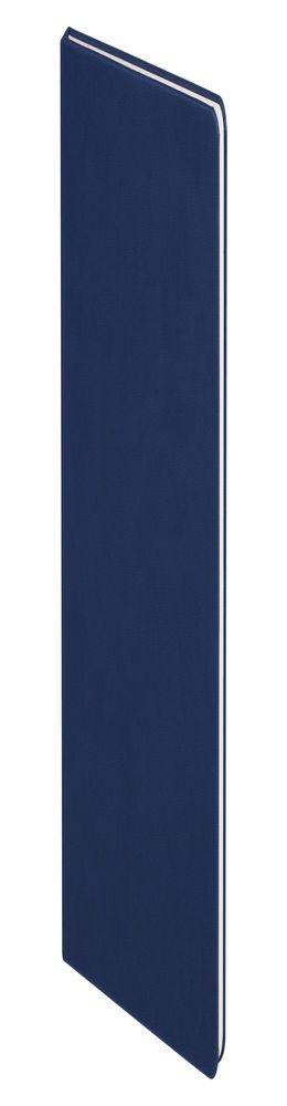 Блокнот Scope, в линейку, синий фото