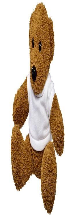 Плюшевый медведь с футболкой фото