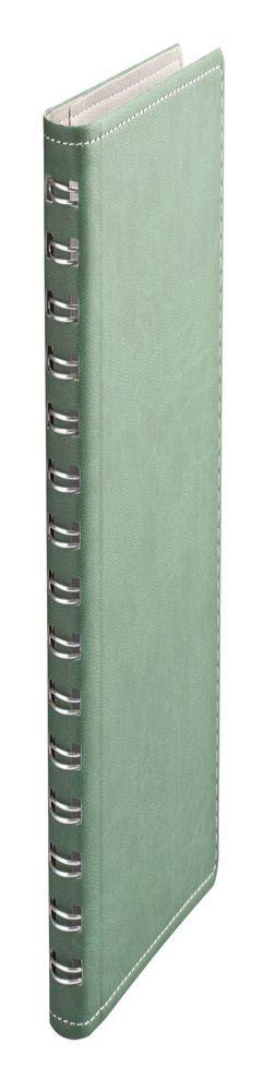 Ежедневник Semi, недатированный, зеленый фото