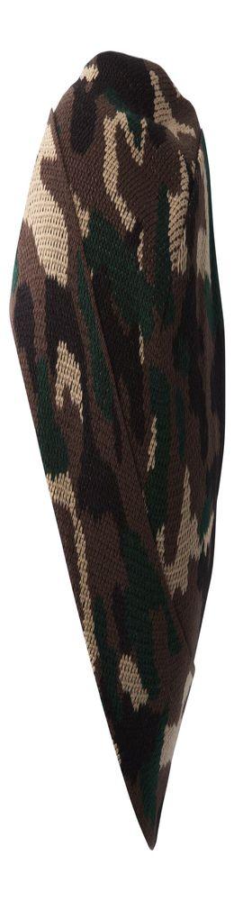 Шапка Storm, зелено-коричневая фото
