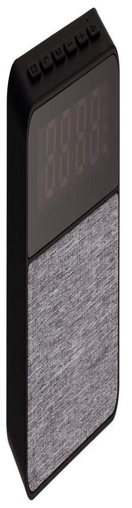 Беспроводная колонка с часами Real Jam, черная фото