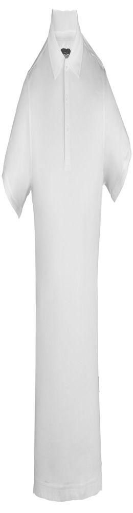 Рубашка поло стретч мужская EAGLE, белая фото