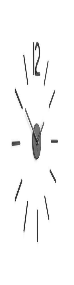 Настенные часы Blink, черные фото