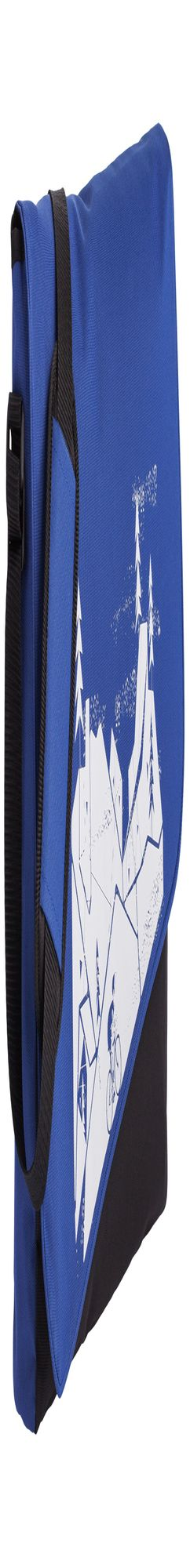 Конференц сумка «Крутой подъем», синяя фото