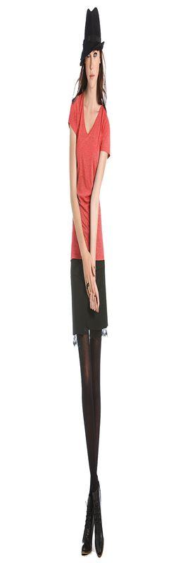 Футболка женская Blondie Deluxe, красный делюкс фото