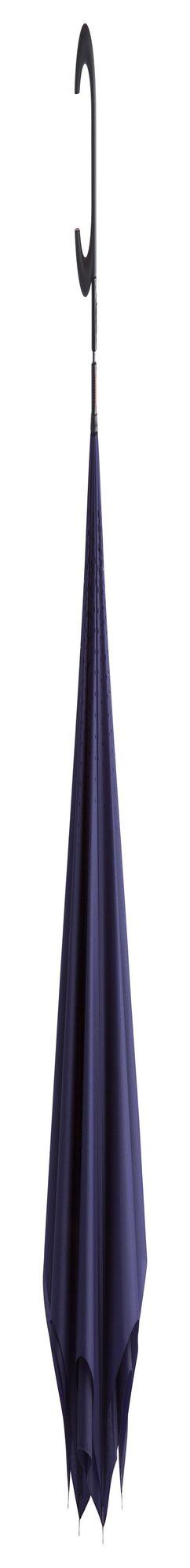 Зонт наоборот Unit ReStyle, трость, темно-синий фото