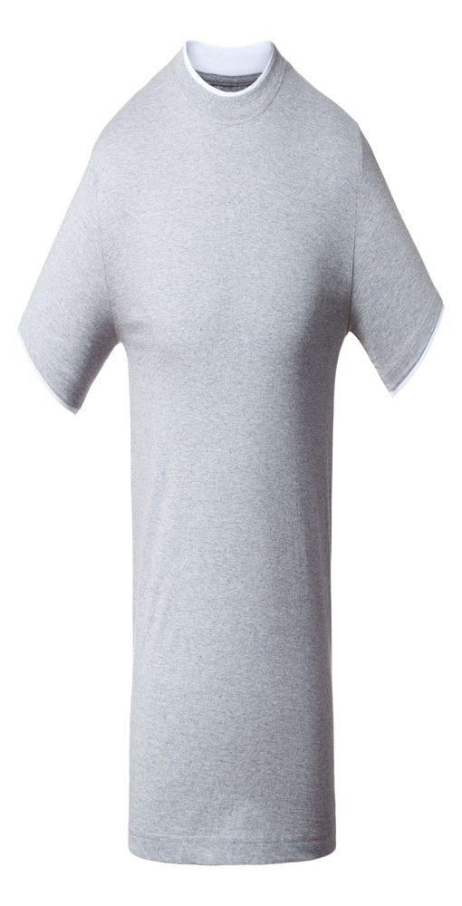 Унисекс футболка T-bolka Accent, серый меланж фото