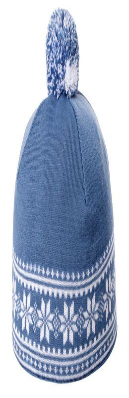 Шапка «Скандик», синяя (индиго) фото