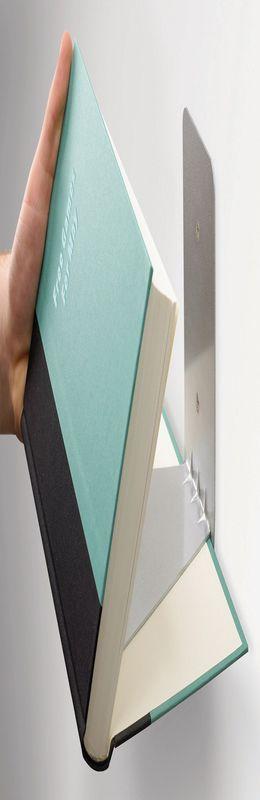 Полка книжная conceal большая сталь фото