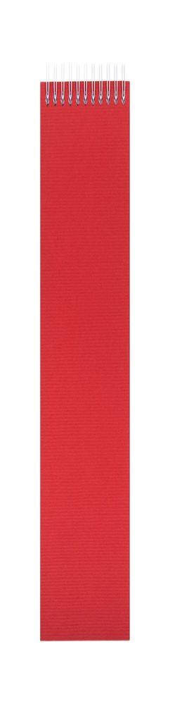 Блокнот Nettuno Mini в линейку, красный фото