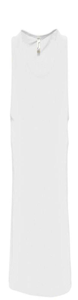 Майка мужская JUSTIN 150, белая фото