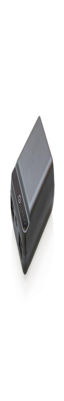 Карманный внешний аккумулятор на 10 000 мАч, черный фото