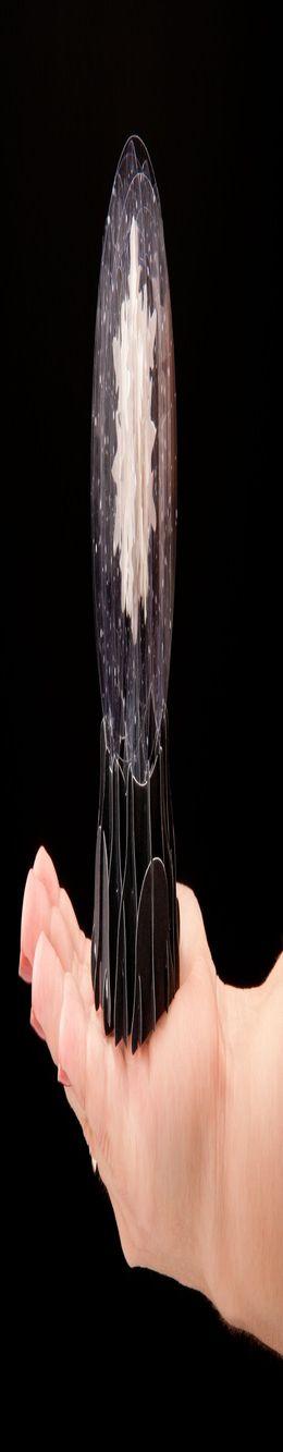 3D открытка «Снежинка» фото