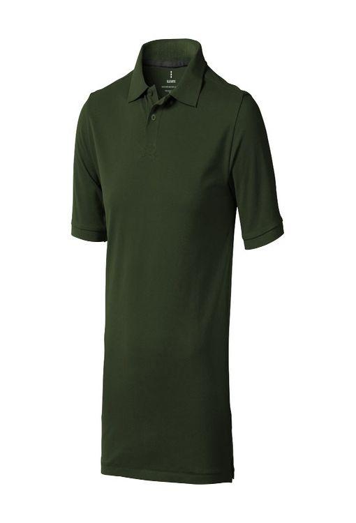 """Рубашка-поло """"Calgary"""" мужская, армейский зеленый фото"""