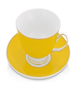 Чайная пара: чашка на 200 мл с блюдцем фото