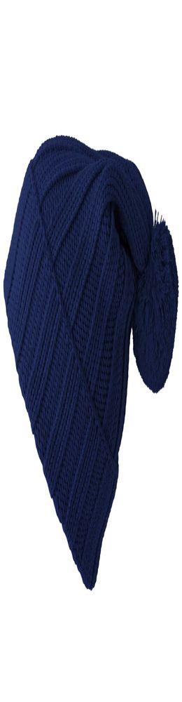 Шапка Chain, темно-синяя фото