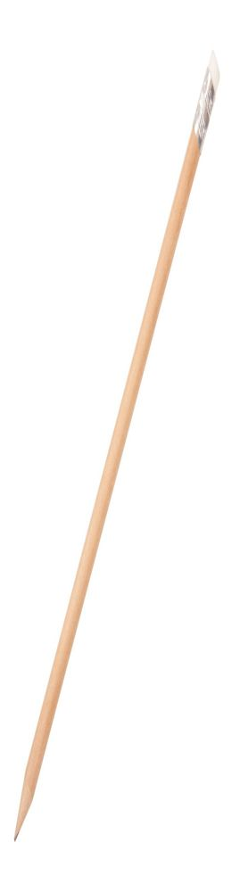 Карандаш простой, круглый, деревянный фото
