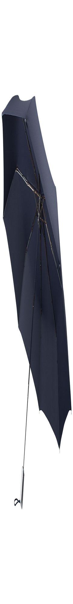 Складной зонт Alu Drop Golf, 3 сложения, автомат, синий фото
