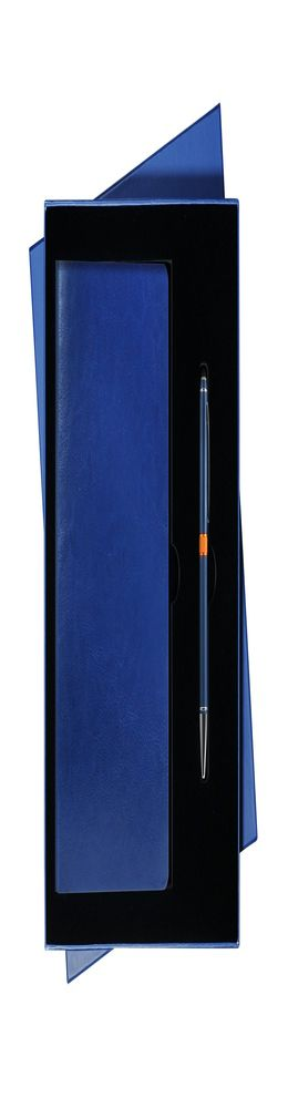 Подарочный набор Portobello/River Side синий (Ежедневник недат А5, Ручка) фото